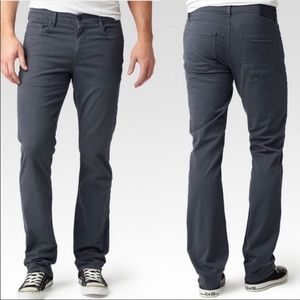 Paige Normandie Gray 31/33 Straight Leg Pants
